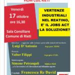 Vertenze industriali reatine 17ott2014